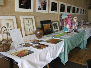 Eva's event, auction table
